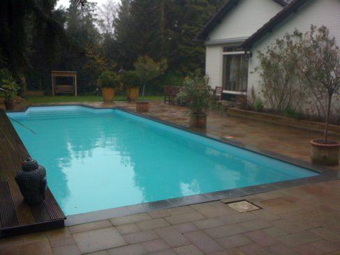 Renovatie bouwkundig zwembad in leersum waterwel for Renovatie zwembad
